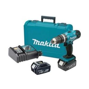 TALADRO MAKITA PERCU.18 V LITIO+2BT3A